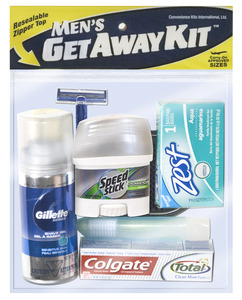 Men�s Deluxe Getaway Kit