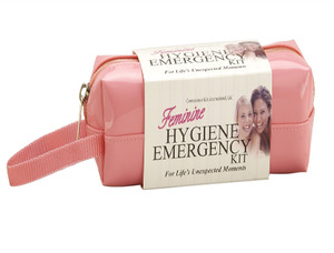 Feminine Hygiene Emergency Kit