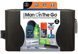 Man on the Go 11 pc. Premium Travel Kit