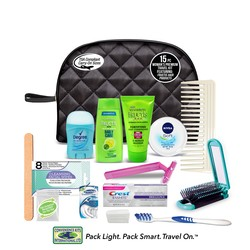 Women's Premium 15 PC Assembled Travel Kit