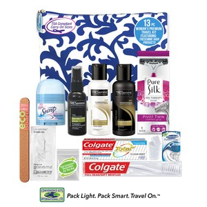 Women's Premium 13 PC Assembled Travel Kit