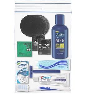 Men's 11 PC Grooming and Dental Kit