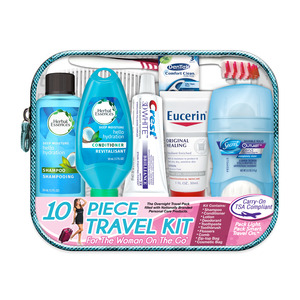 Women's Deluxe 10 pc Herbal Essences Travel Kit