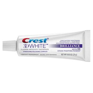 Crest 3D White Bulk Toothpaste .85 oz.