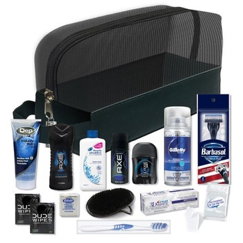 Young Mens Premium 16-Piece Travel Kit