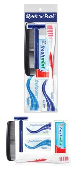 Quick N Fresh Unisex Hygiene Kit 6 pc.