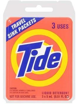 Tide Travel Sink Packet