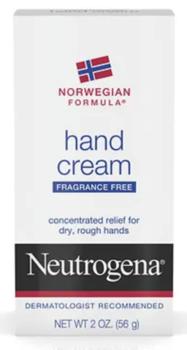 Neutrogena Norwegian Formula Hand Cream 2 oz.