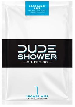 Dude Shower Wipe