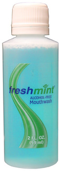 Freshmint Alcohol Free Mouthwash 2 oz.