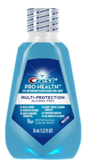 Crest ProHealth Rinse Mouthwash 1.2 oz.