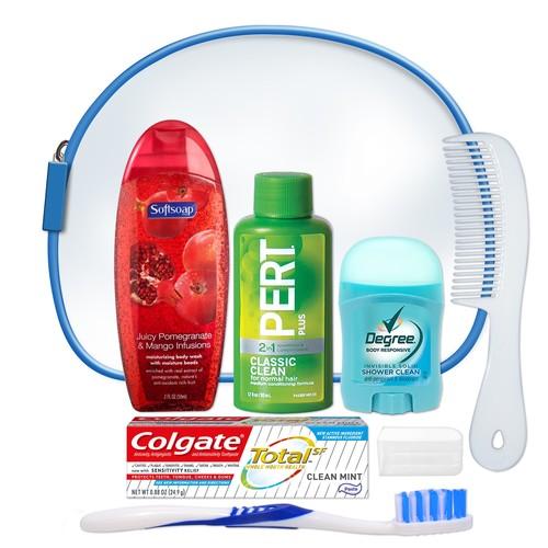 Unisex 7 PC Hygiene Kit