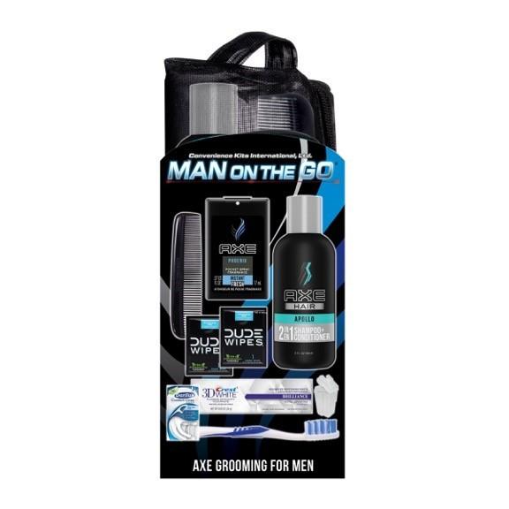 Men's Deluxe 10 PC AXE Travel Kit