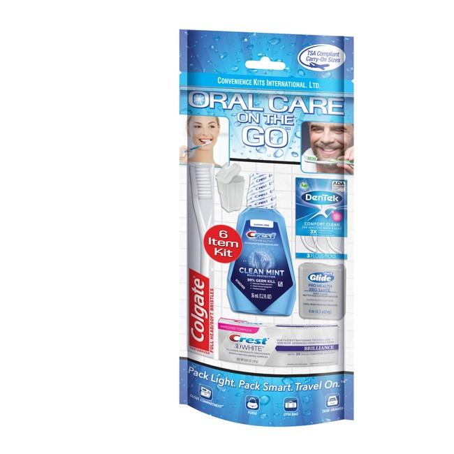 Oral Care 6 pc Travel Kit