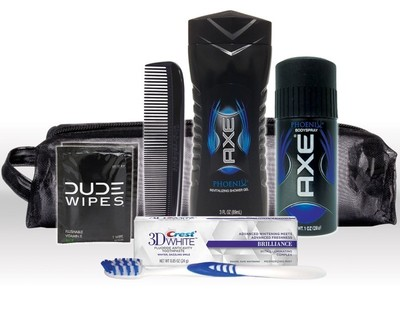 Convenient grab-and-go AXE - Travel Hygiene Kit